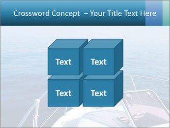 Blue sea boat PowerPoint Templates - Slide 39