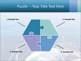 Blue sea boat PowerPoint Templates - Slide 40