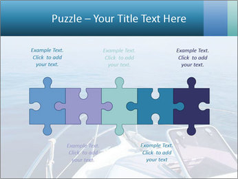 Blue sea boat PowerPoint Templates - Slide 41