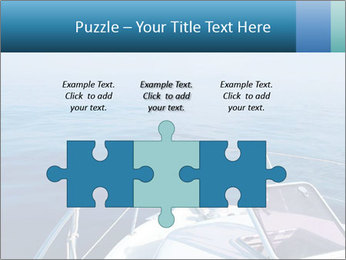Blue sea boat PowerPoint Templates - Slide 42