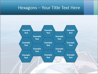 Blue sea boat PowerPoint Templates - Slide 44