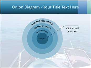 Blue sea boat PowerPoint Templates - Slide 61