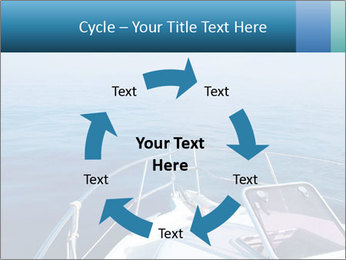 Blue sea boat PowerPoint Templates - Slide 62