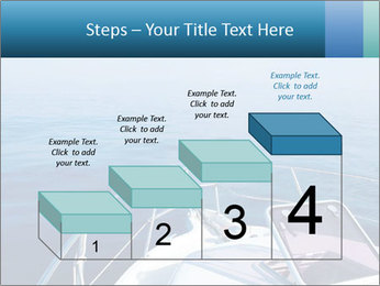 Blue sea boat PowerPoint Templates - Slide 64