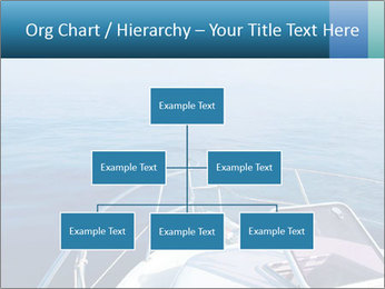 Blue sea boat PowerPoint Templates - Slide 66