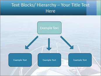 Blue sea boat PowerPoint Templates - Slide 69