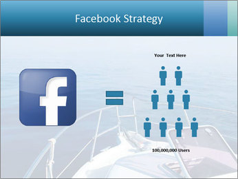 Blue sea boat PowerPoint Templates - Slide 7