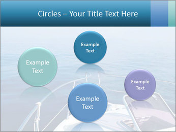 Blue sea boat PowerPoint Templates - Slide 77