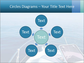Blue sea boat PowerPoint Templates - Slide 78