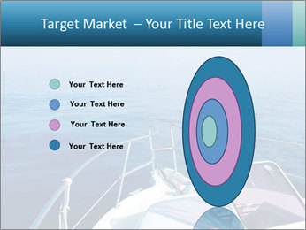 Blue sea boat PowerPoint Templates - Slide 84