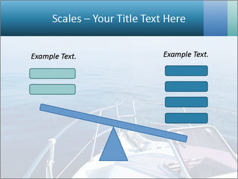 Blue sea boat PowerPoint Templates - Slide 89