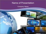 Global media PowerPoint Templates