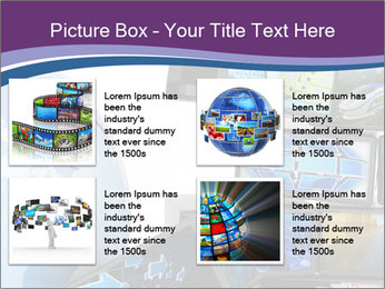 Global media PowerPoint Template - Slide 14