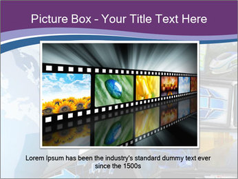 Global media PowerPoint Template - Slide 15