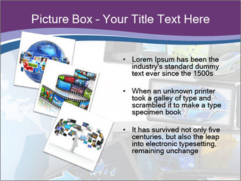 Global media PowerPoint Template - Slide 17
