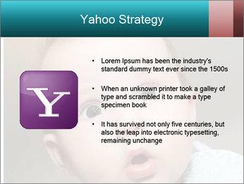 Cute  baby PowerPoint Template - Slide 11