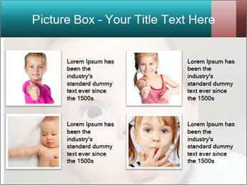 Cute  baby PowerPoint Template - Slide 14