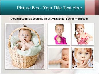 Cute  baby PowerPoint Template - Slide 19