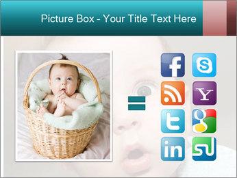 Cute  baby PowerPoint Template - Slide 21