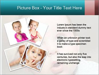 Cute  baby PowerPoint Template - Slide 23