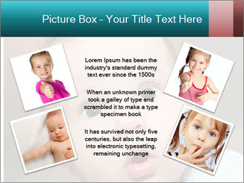 Cute  baby PowerPoint Template - Slide 24