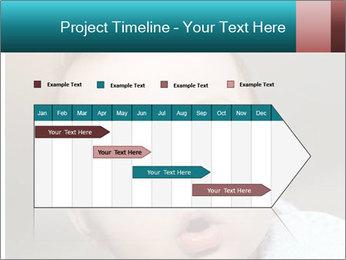 Cute  baby PowerPoint Template - Slide 25