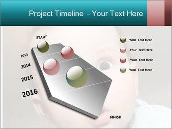 Cute  baby PowerPoint Template - Slide 26