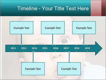 Cute  baby PowerPoint Template - Slide 28