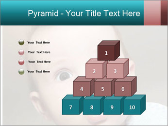 Cute  baby PowerPoint Template - Slide 31