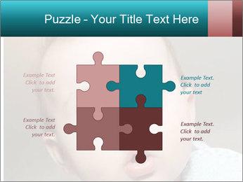 Cute  baby PowerPoint Template - Slide 43