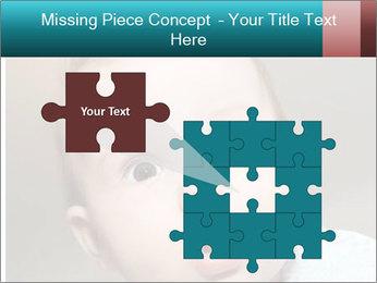 Cute  baby PowerPoint Template - Slide 45
