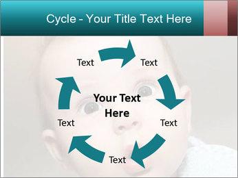 Cute  baby PowerPoint Template - Slide 62