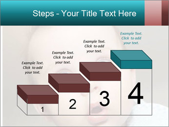 Cute  baby PowerPoint Template - Slide 64