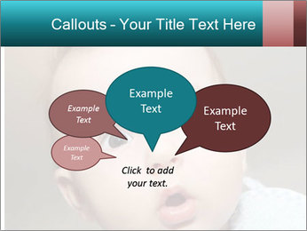 Cute  baby PowerPoint Template - Slide 73