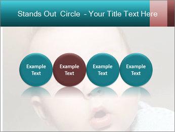 Cute  baby PowerPoint Template - Slide 76