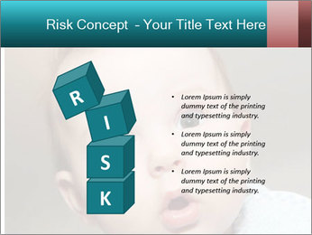 Cute  baby PowerPoint Template - Slide 81