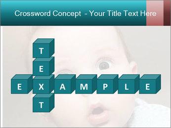 Cute  baby PowerPoint Template - Slide 82
