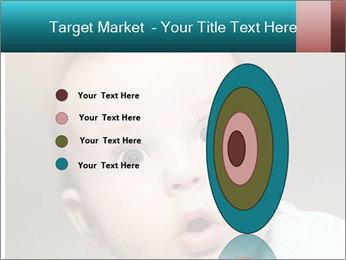 Cute  baby PowerPoint Template - Slide 84