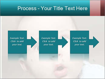 Cute  baby PowerPoint Template - Slide 88