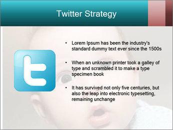 Cute  baby PowerPoint Template - Slide 9