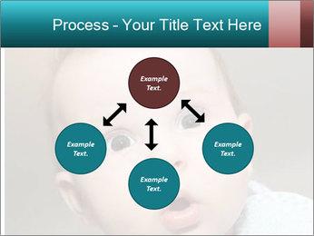 Cute  baby PowerPoint Template - Slide 91