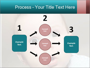 Cute  baby PowerPoint Template - Slide 92