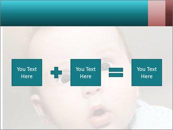 Cute  baby PowerPoint Template - Slide 95