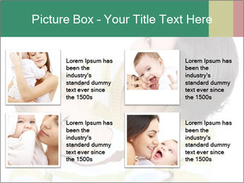 Bright picture of happy mother PowerPoint Template - Slide 14