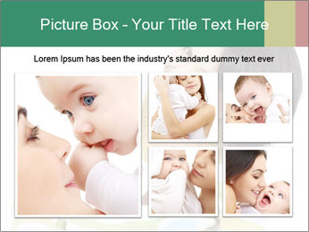 Bright picture of happy mother PowerPoint Template - Slide 19
