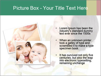 Bright picture of happy mother PowerPoint Template - Slide 20