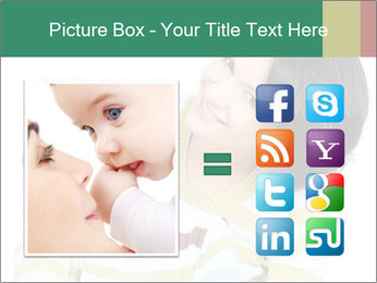 Bright picture of happy mother PowerPoint Template - Slide 21