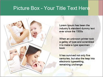 Bright picture of happy mother PowerPoint Template - Slide 23