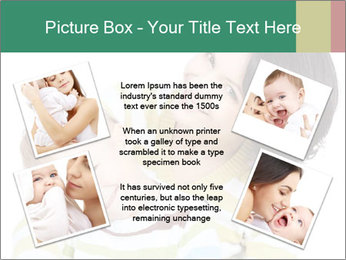 Bright picture of happy mother PowerPoint Template - Slide 24