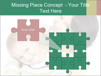 Bright picture of happy mother PowerPoint Template - Slide 45